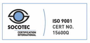 ISO 9001 registration 15600Q